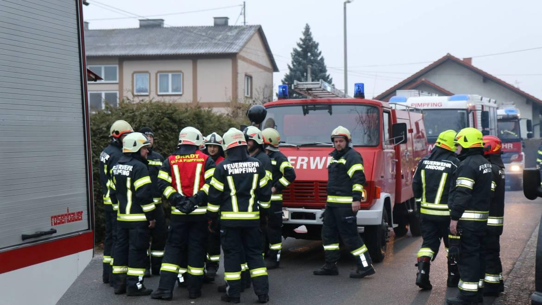 Kellerbrand in der Eggerdinger Straße