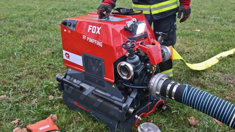 Neuanschaffung Tragkraftspritze FOX 4