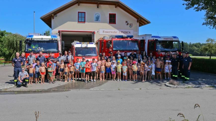 Ferienpassaktion der 4 Andorfer Feuerwehren