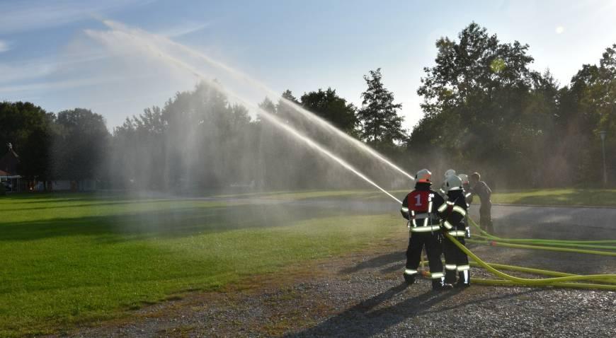 Grundausbildung der 4 Andorfer Feuerwehren