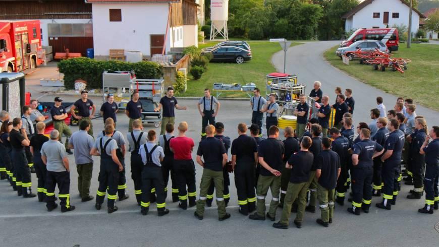 Monatsübung mit GSF St. Marienkirchen