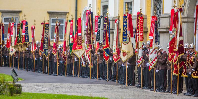 Jugend bei 150-jährigem Jubiläum des Landesfeuerwehrverbandes
