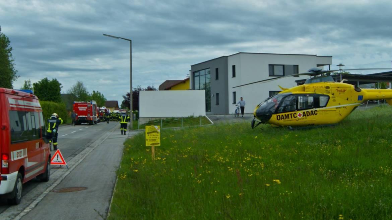 2 Verletzte bei Verkehrsunfall in Radlern