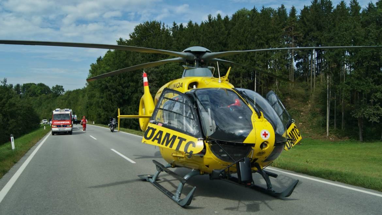 Schwerer Verkehrsunfall in Zell/Pram