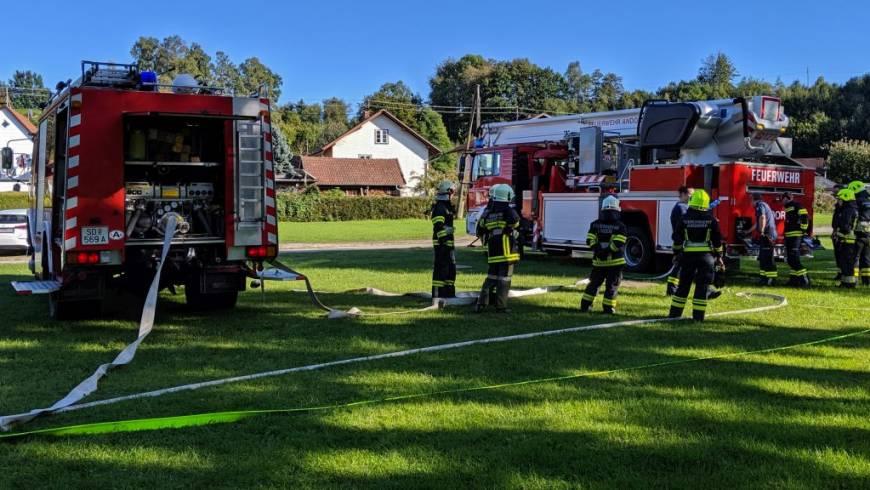 Grundausbildung der Andorfer Feuerwehren