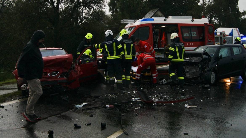 Schwerer Verkehrsunfall in Hebertspram