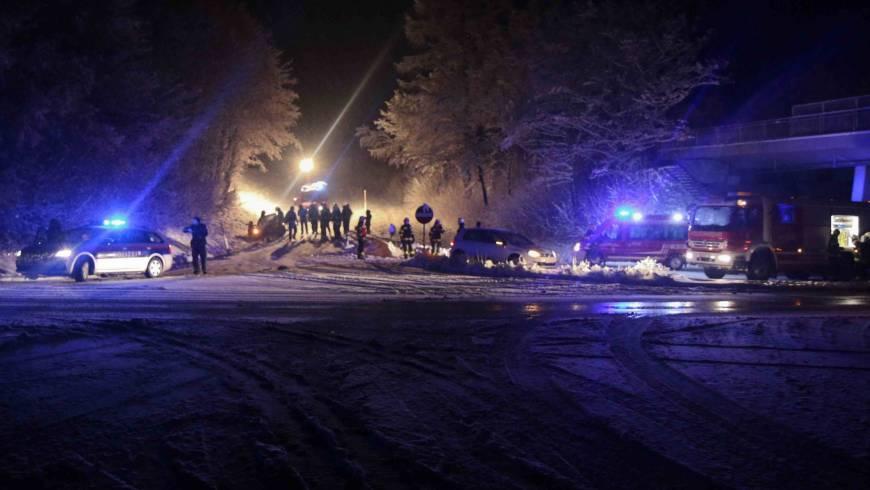 Verkehrsunfall auf der B137