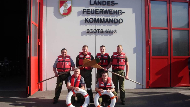 Wasserwehrdienst Grundausbildung