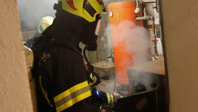 Kaminbrand in Radlern