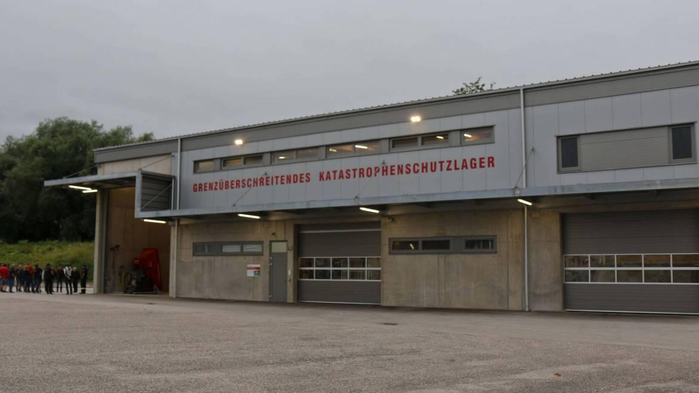Besichtigung Katastrophenschutzlager Schärding