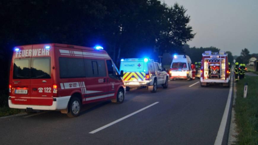 Verkehrsunfall auf der AL 514